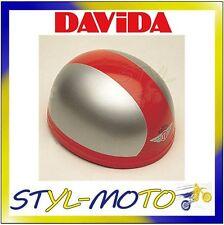 60204 CASCO DAVIDA 60-CLASSIC TWO TONE SILVER / RED TAGLIA M