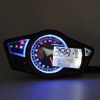 LCD Digital Odometer Speedometer Tachometer Motorcycle for All Motorcycle Cars
