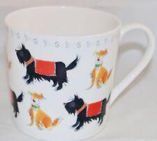 Rose Of England Scottish Terrier Dog MUG NEW Coffee Tea Cup Scotty Bone China