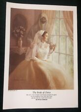 "The Bride of Christ - William Hallmark - Print for Framing 7.75"" x 11"""
