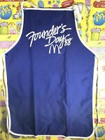 Vintage McDonald's 1988 Apron Founders Day McDonald's Collectibles Print Ad.