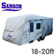 Samson Heavy Duty 3 Layer Waterproof 18-20ft Caravan Cover