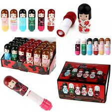 Kimono Doll Lip balm Dolly Lipstick Gloss Wholesale Job lot Bulk buy kids Beauty