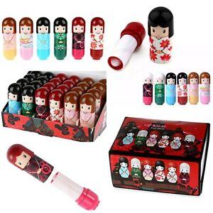 Kimono Doll Lip balm Dolly Lipstick Gloss Wholesale Joblot Bulk childrens Beauty