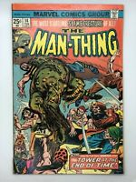 THE MAN-THING #14 MARVEL 1975 BRONZE AGE COMIC BOOK TOWER OF THE SATYR! MVS