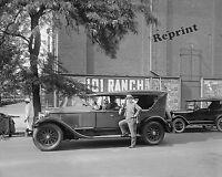 Photograph of a 1916 Cadillac from the Cadillac Company Car Washington DC 8x10