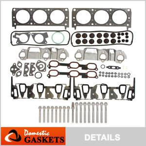 Performance Head Gasket Set Bolts Fits 96-99 Chevrolet Pontiac Oldsmobile 3.4