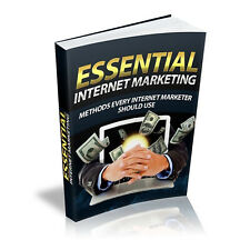 Essential Internet Marketing Pdf Online Business Ebook with Master Resell Rights