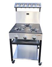 3 BURNER COMMERCIAL COOKER FOR RESTAURANT OR TAKEAWAY USE