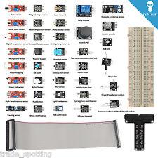 SainSmart Raspberry Pi Sensor Kit + 40 Pins GPIO Breakout for Raspberry Pi 2 B