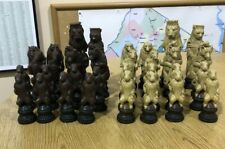 Large Animal Chess Pieces