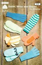 Patons Beehinve Pattern Booklet 140  Socks, Mitts and Gloves for Children