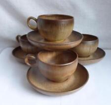 Cups & Saucers British Denby, Langley & Lovatt Pottery