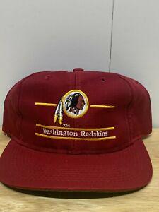 Vintage Washington Redskins Split Bar Snapback Hat