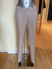 Michele 'Blue Dot' Trousers Size 18 BNWT Beige Tailored RRP £120 NOW £54