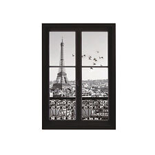 3D Scenery of Paris Eiffel Tower Print Wall Stickers DIY Decals Rooms Exquisite
