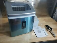 Merax Portable Electric Clear Ice Maker Machine 48 lbs Per Day -Stainless Steel