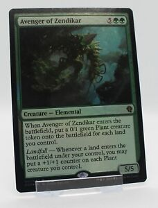 Avenger of Zendikar, *Foil*, *Mythic*, Duel Decks, 2015, VGC, English, MTG