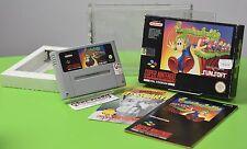 Lemmings Super Nintendo SNES emballage d'origine Sammlung