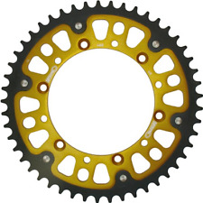 Supersprox Stealth Black Rear Sprocket 520 52 Teeth Kawasaki KX 250 X 1999