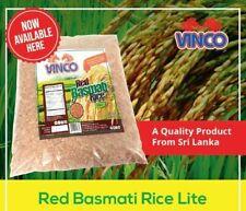 Red  Basmati Rice 11.02LB 5kg Bag Red Basmati Rice Lite Naturally Low Glycemic