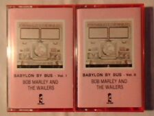 BOB MARLEY & THE WAILERS Babylon by bus 2mc cassette k7 ITALY COME NUOVA!!!