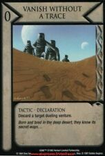 Dune CCG - Vanish without Trace  / Eye of the Storm