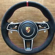 Porsche Alcantara Steering Wheel HEATING 911 Macan Carrera Cayenne GTS Cayman