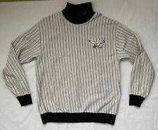 Philadelphia Eagles Men's Majestic Pinstripe Crew Turtleneck sweatshirt-XXL