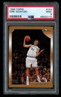1998-99 Topps Dirk Nowitzki Rookie PSA 9 Mint RC #154 Mavericks