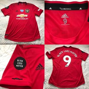 Manchester United Adidas Player Issue Unworn Football Shirt Size 9, MARTIAL 9