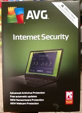 AVG Internet Security 2019 - 3 PCs / 1 Years Brand New, Free Shipping