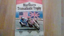 Marlboro Transatlantic Trophy Motorcycle 1980 Official Programme