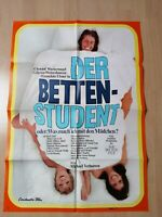 Original Kinoposter A1 : Der Bettenstudent  ( Gila von Weitershausen) Z 1-2