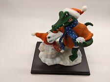University of Florida Slavic Treasures Mascot & Snowman Clothic Accents Figurine