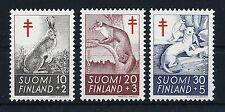 Finland 1962 complete Animal set Tuberculosis Relief MNH VF