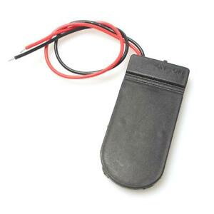 2 x CR2032 Coin Cell Battery Holder - 6V output with On/Off switch