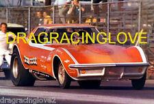 Don Cook 1970 Chevy Corvette NITRO Funny Car PHOTO!