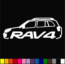 Rav 4 Toyota Decal JDM Racing Drift Emblem Decor Diecut Vinyl Sticker
