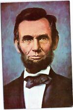 postcard President Abraham Lincoln portrait