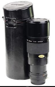 Lens  Nikon Nikkor ED 300 4.5 300mm F/4.5