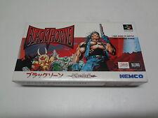 BlackThorne Nintendo Super Famicom Japan NEW