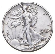 AU/Unc - 1943-D Walking Liberty Silver Half Dollar - Better *757