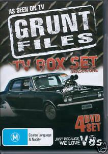 Grunt Files TV Box Set - 4 DISC - Season One