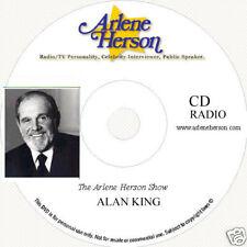 Alan King Radio Interview (six segments 30 min) CD