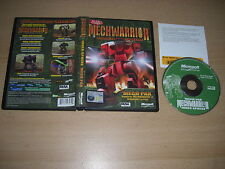 MECHWARRIOR 4 INNER SPHERE - MECH PAK - Vengeance Add-On Expansion Pack Pc Cd
