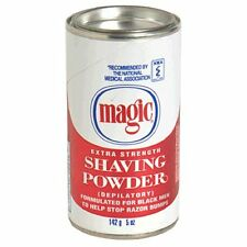 Magic Shaving Powder, Extra Strength, 5-Ounce Cans (Pack of 12)