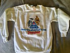 Vintage Disney Disneyland Star Tours Sweatshirt 1986 Brand New Size XL