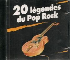 CD COMPIL 20 TITRES--20 LEGENDES POP ROCK--PLATTERS/BROWN/ORBISON/CASH/SANTANA..