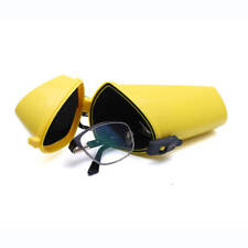 New Witz The Wrapper Glasses Sport Case Yellow Waterproof Plastic Box Container